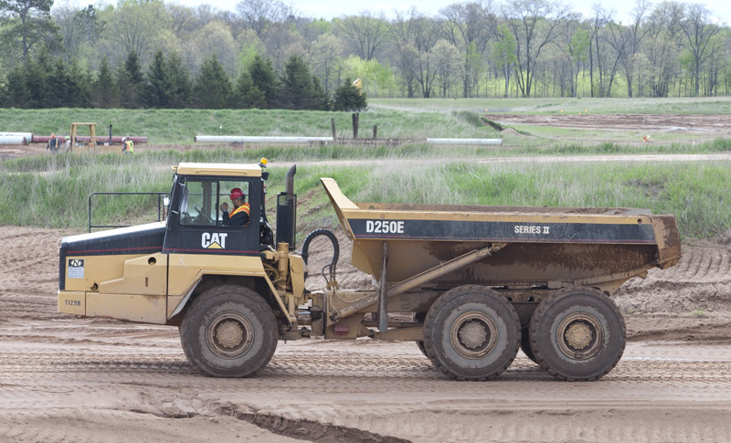 CAT D250E Training