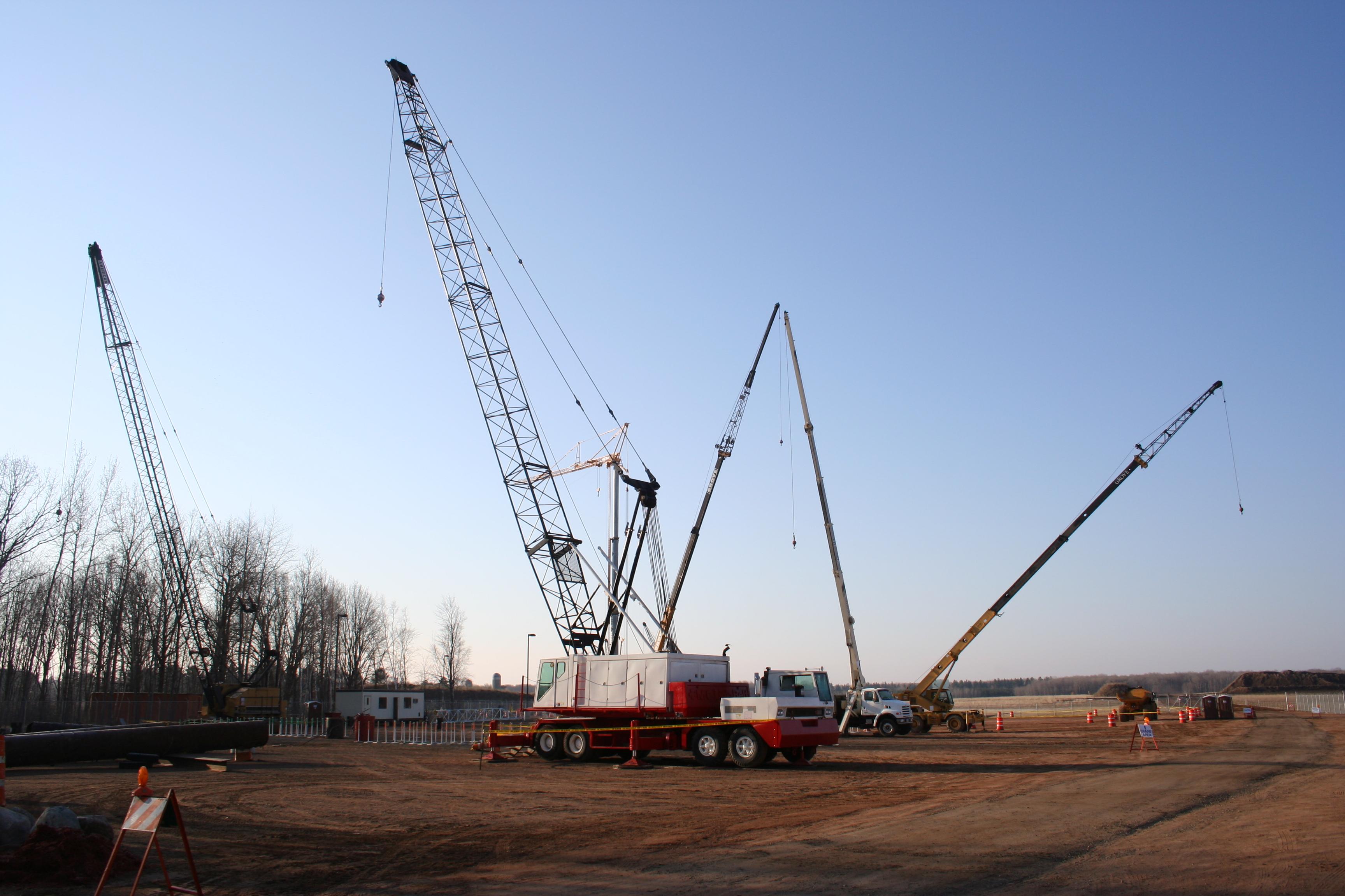 Crane Operator Apprentice – Local 49 Training Center