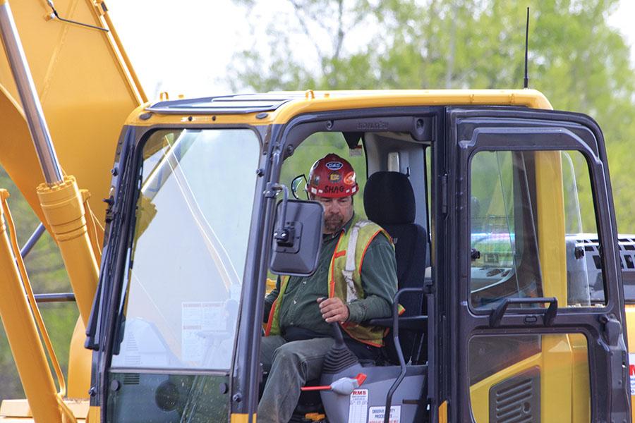excavator cab